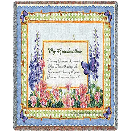 Amazon Pure Country Weavers My Grandmother Blanket Tapestry Interesting Grandmother Throw Blanket