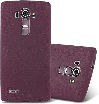 Cadorabo Funda para LG G4 / G4 Plus en Frost Lila Burdeos: Amazon ...