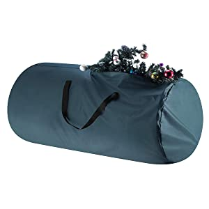 Tiny Tim Totes 83-DT5564 Premium Canvas Christmas Storage Bag   Extra Large for 12 Foot Tree   Green, Single,