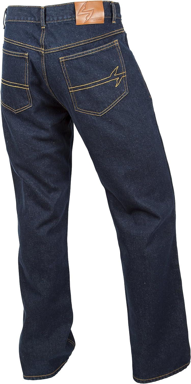 Black, Size 32 ScorpionExo Covert Jeans Mens Reinforced Motorcycle Pants
