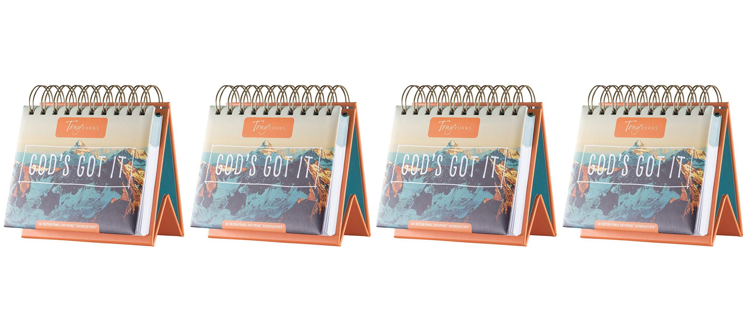 Flip Calendar - Tony Evan's God's Got It (Fоur Paсk) by Dayspring