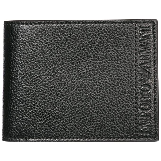 Emporio Armani billetera hombre black: Amazon.es: Ropa y ...