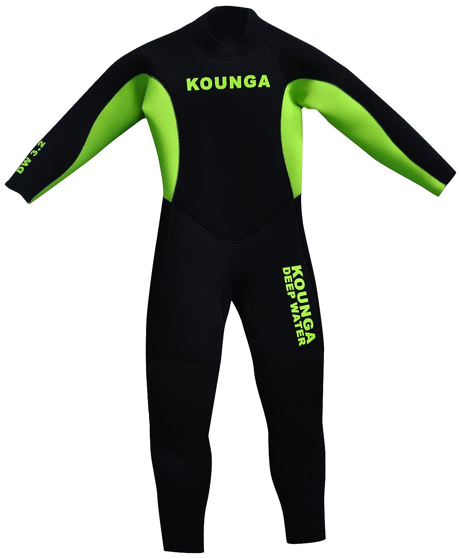Kounga Jungen Dw 4.3 Neoprene Full 4//3 Neoprenanzug