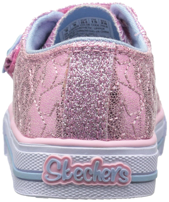 Skechers Scintillio Dita Rimescola La Luce Delle Stelle Bambino Sneaker Light-up yI9Jh