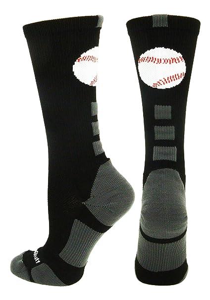 Baseball Logo Athletic Crew Socks (multiple colors)  Amazon.ca ... 38e6d0778