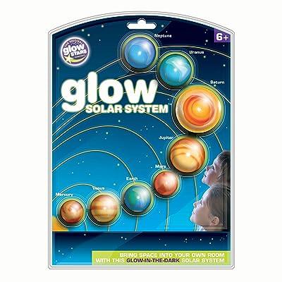 Brainstorm The Original Glowstars Company Glow Solar System: Toys & Games