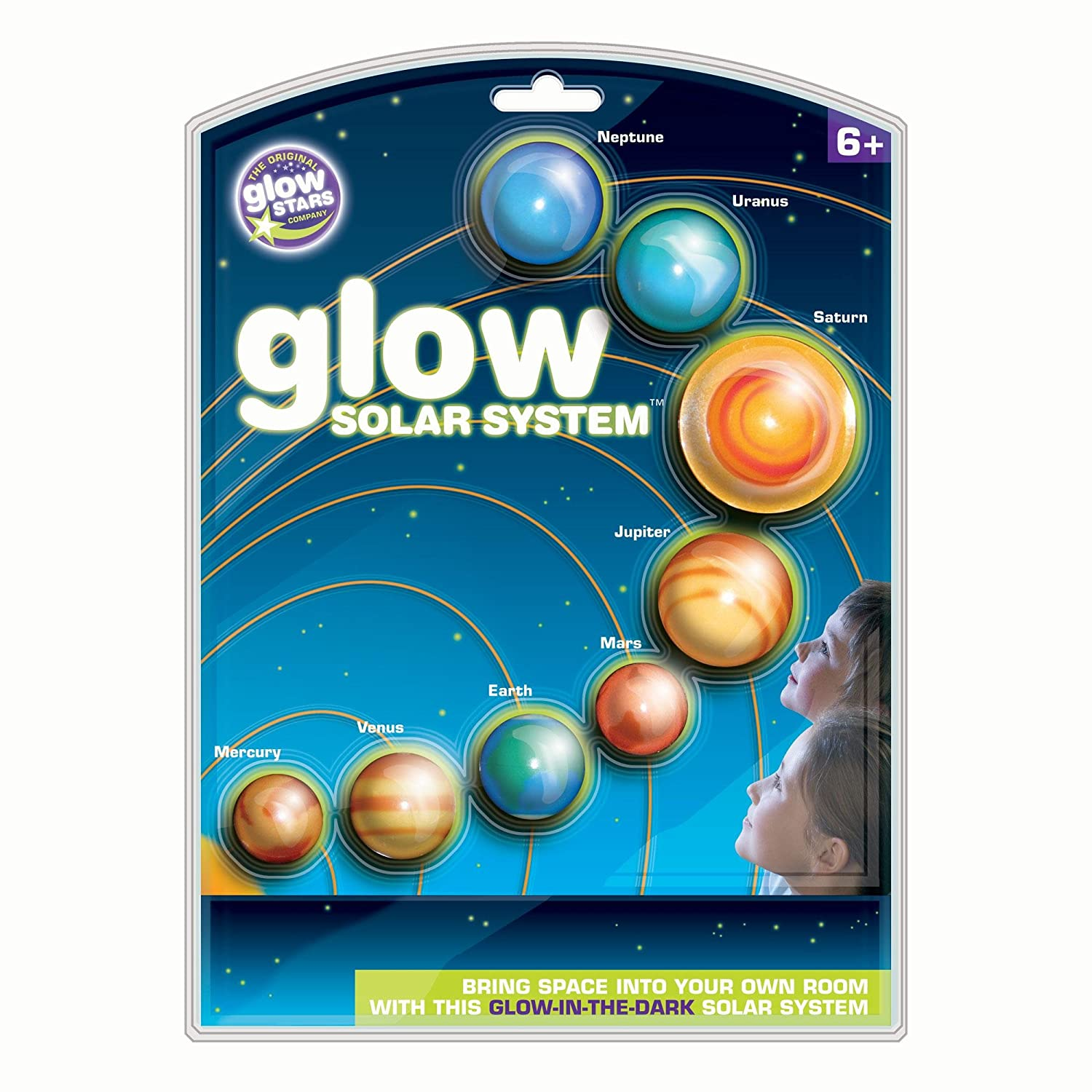 Amazon.com: Brainstorm Glow Solar System: Toys & Games