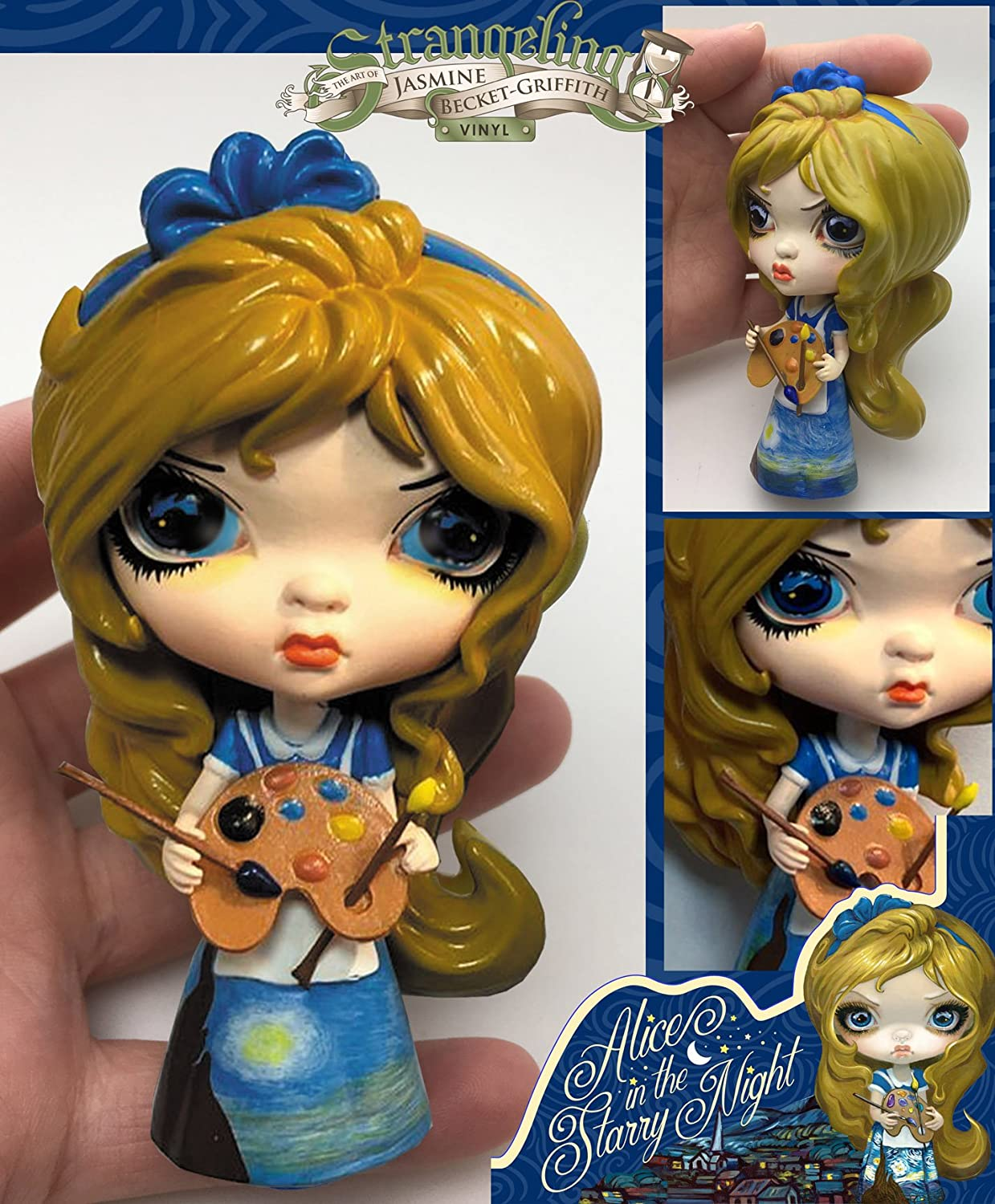 Alice in the Starry Night Strangeling Vinyl Doll from Jasmine Becket-Griffith