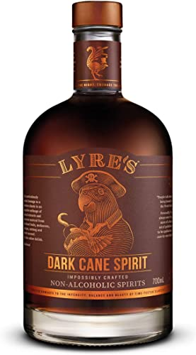 Lyres Dark Cane - Bebida espirituosa sin alcohol - Estilo Ron Oscuro | Premiado | 700ml