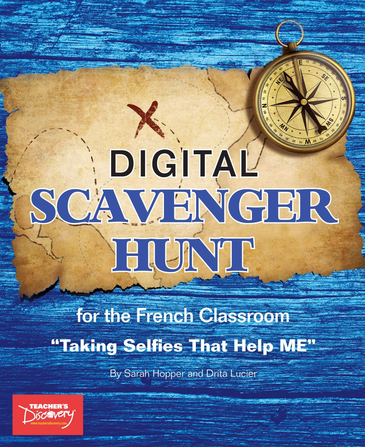 French Digital Scavenger Hunt Book by Teacher's Discovery