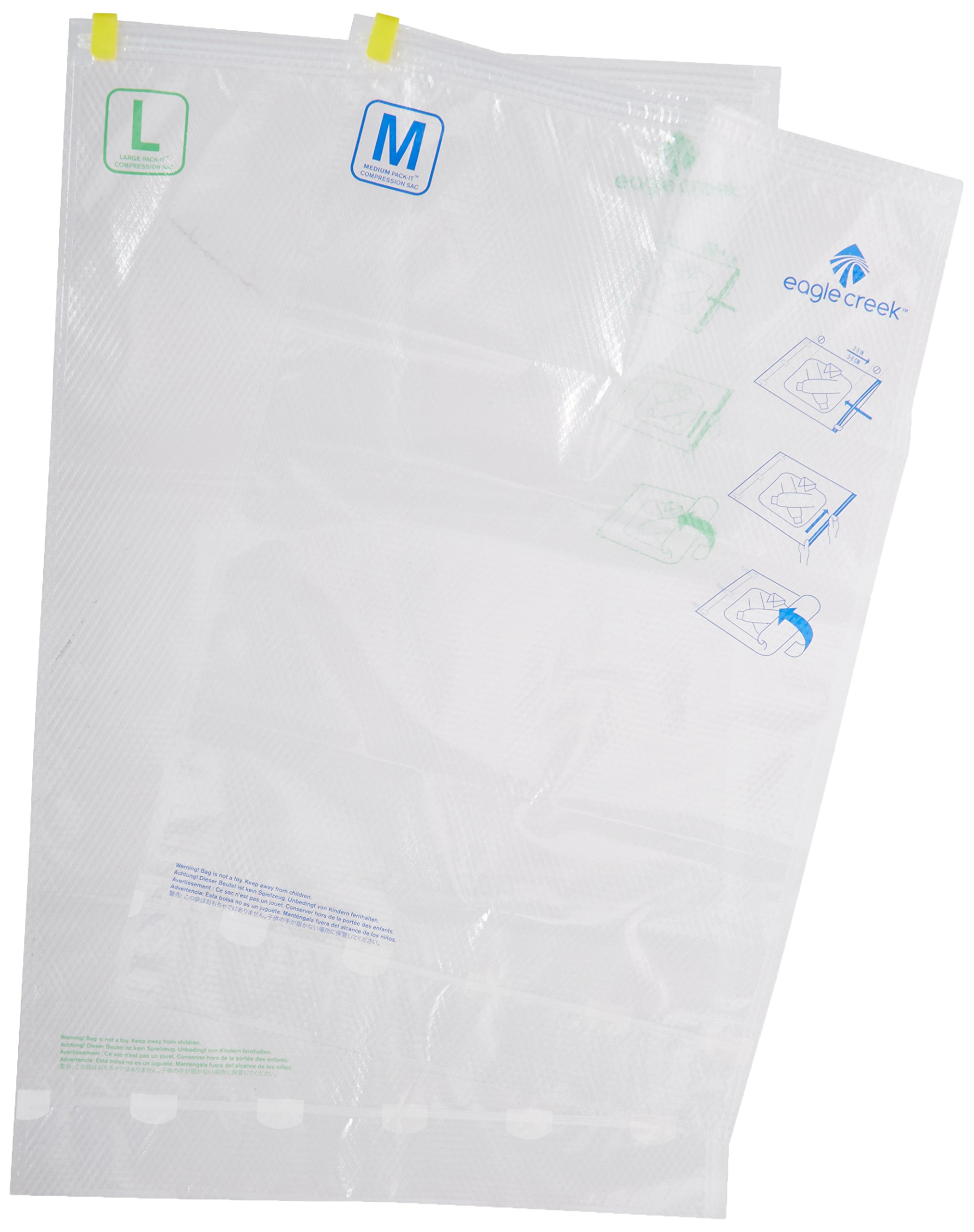 Eagle Creek Travel Gear Pack-It Compression, Clear