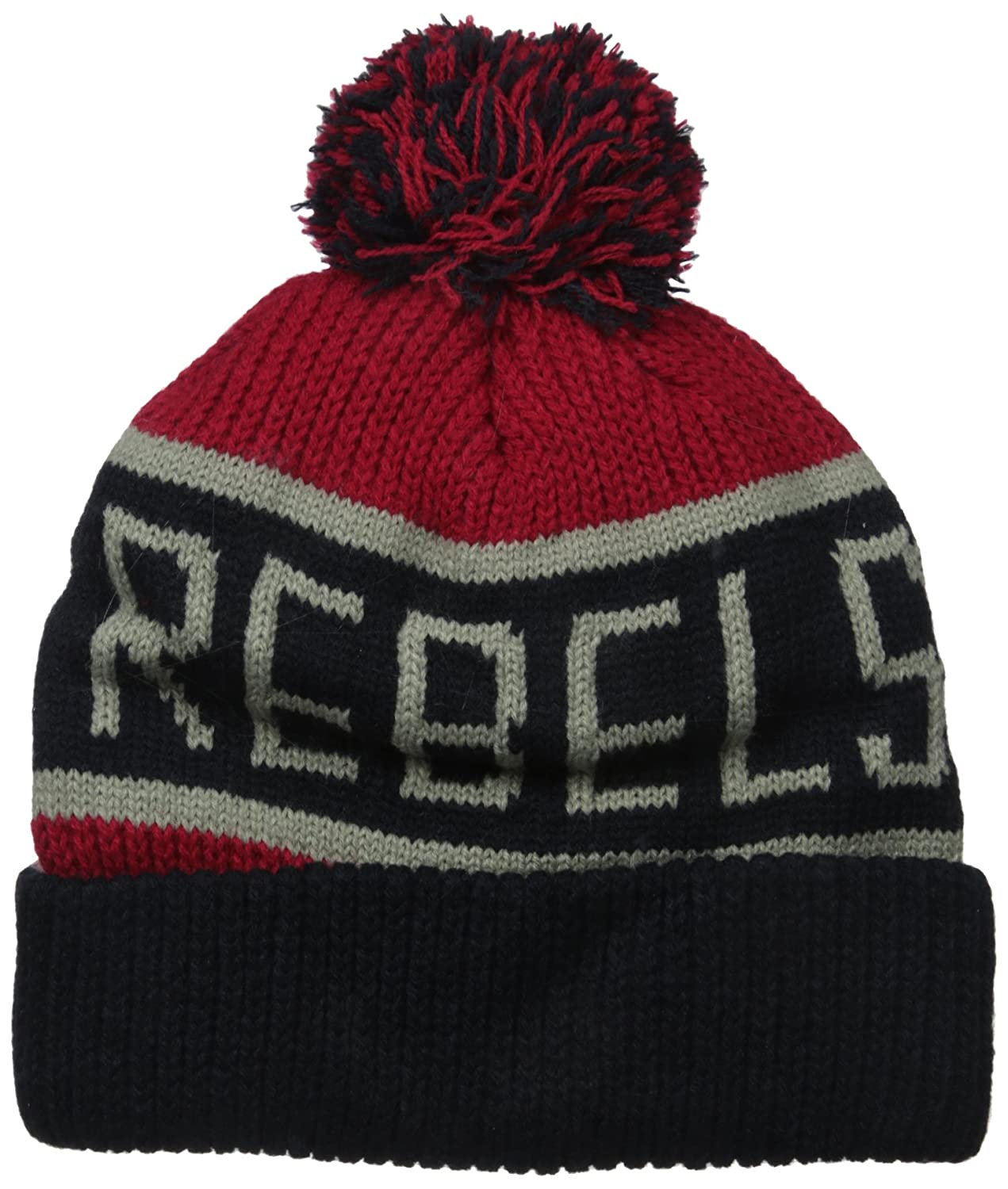 85cef17f103d77 Amazon.com : '47 NCAA Mississippi Old Miss Rebels Calgary Cuff Knit Hat,  One Size, Red : Clothing