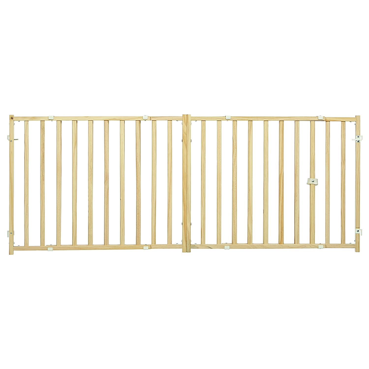 Midwest Homes for Pets Extra-Wide Swing Pet Safety Gate, Expands 50.25-94, 24 Tall Expands 50.25-94 24 Tall 2924WEW-2