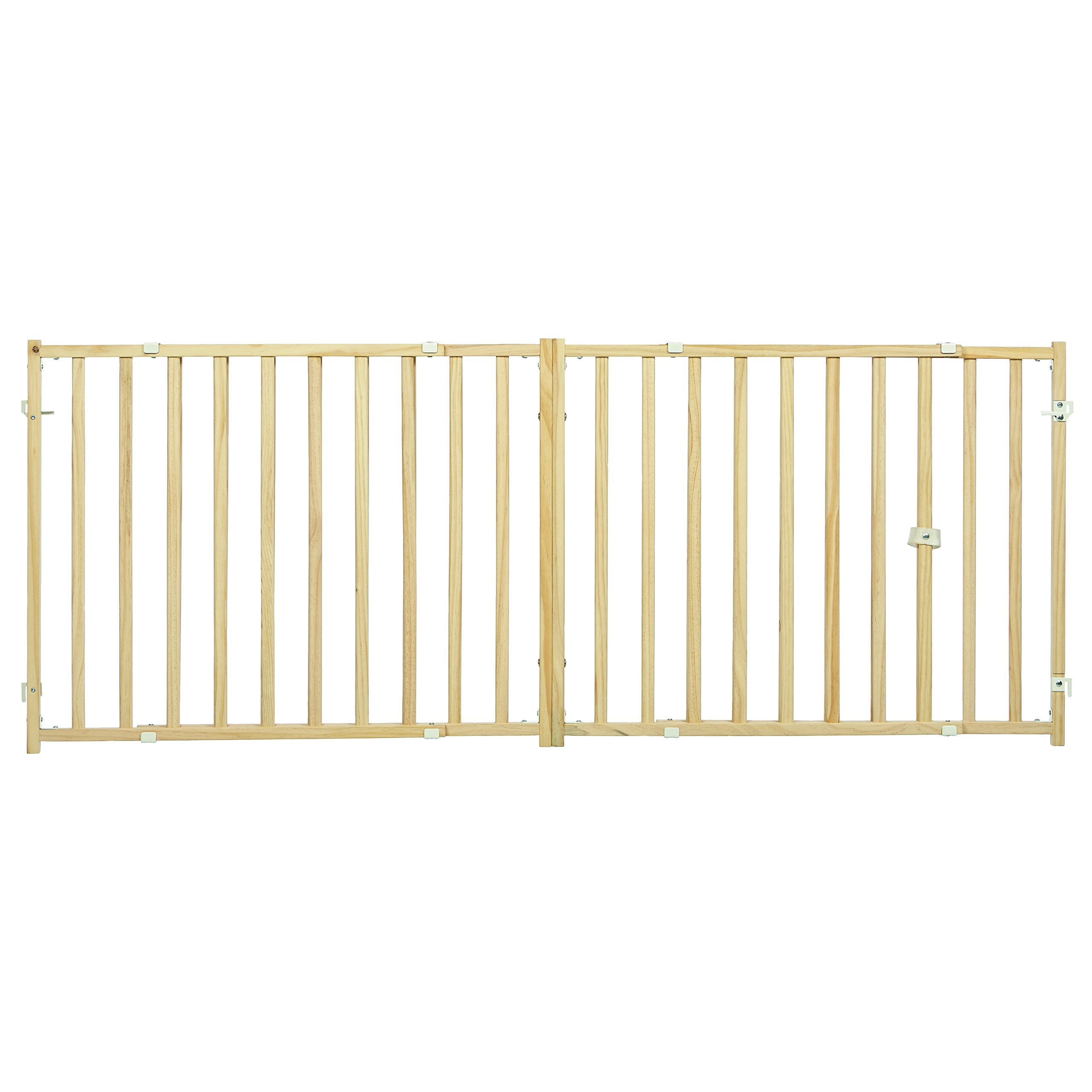 Midwest Extra-Wide Swing Pet Safety Gate, Expands 50.25-94'' Wide, 24'' Tall