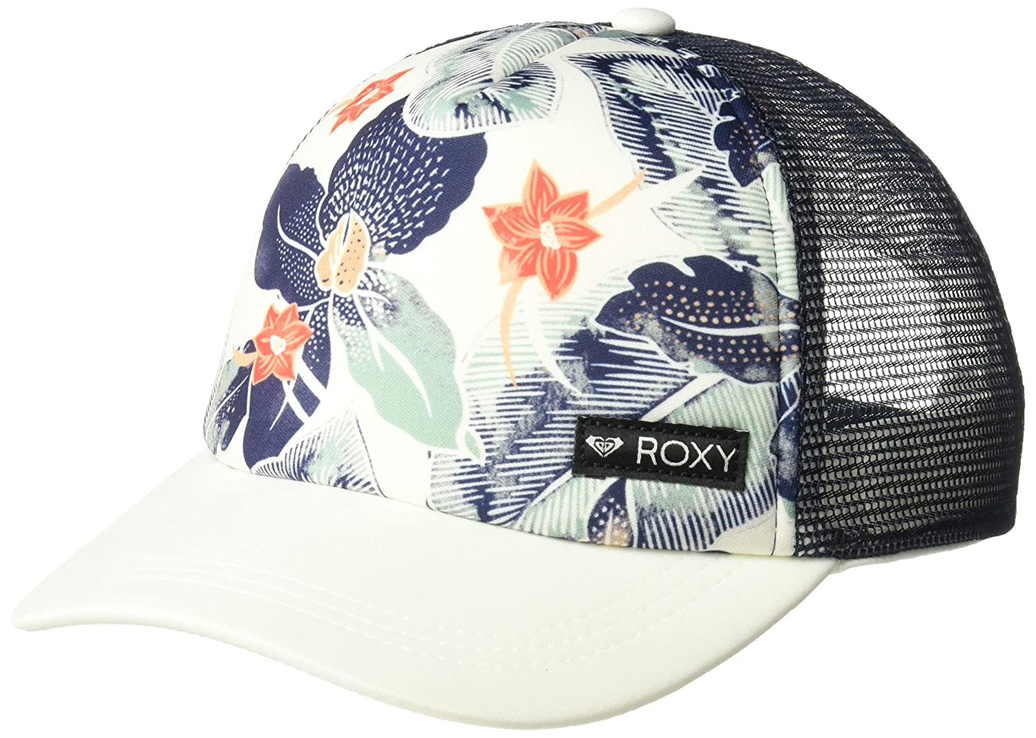 4c86379b1d1 Amazon.com  Roxy Girls  Big Just Ok Trucker Hat