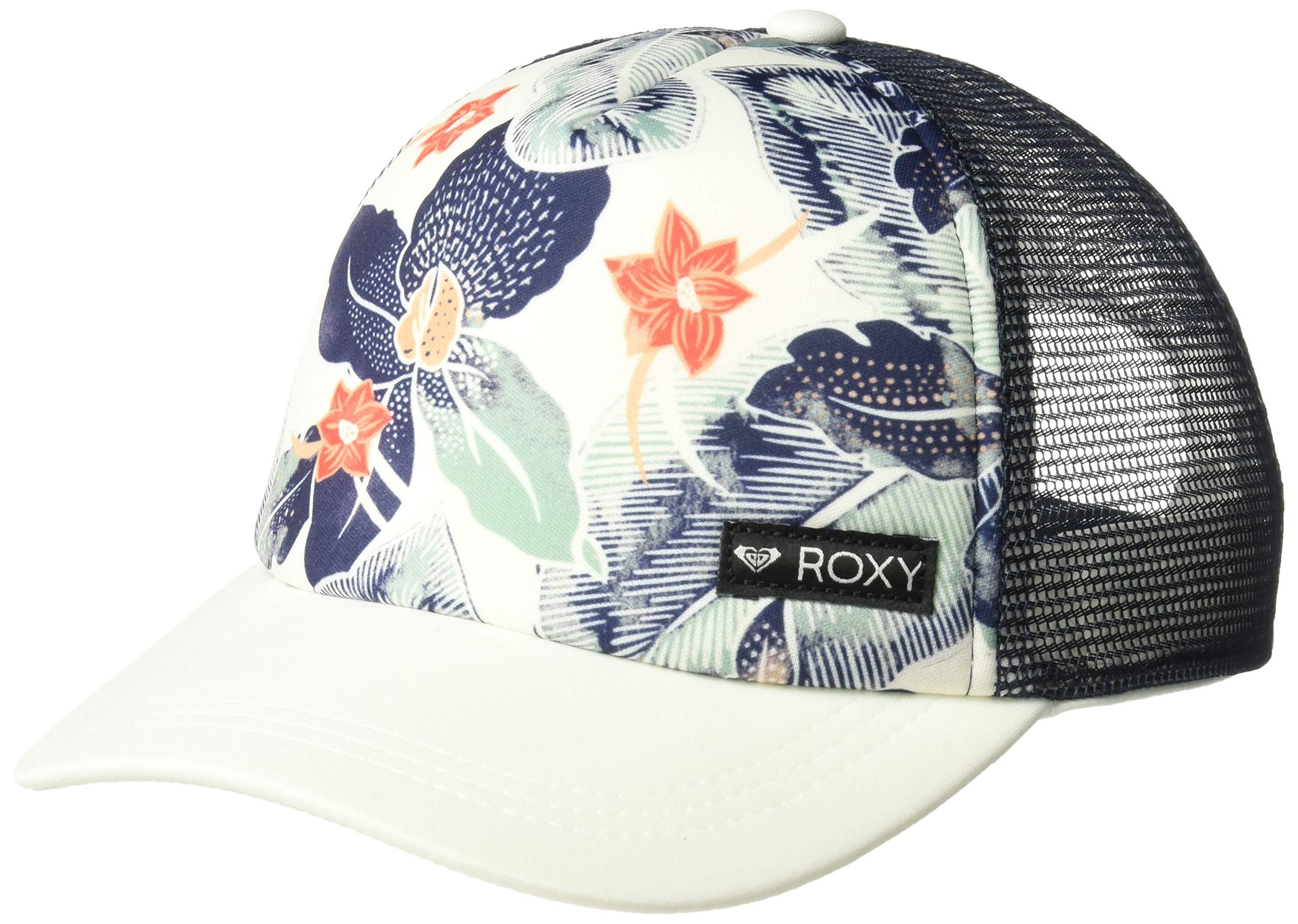 Roxy Girls' Big Just Ok Trucker Hat, Marshmallow 1SZ
