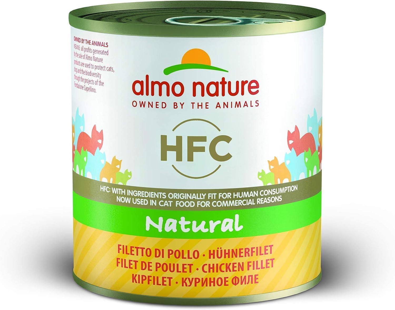 Almo Nature HFC Natural - Filete de Pollo (Paquete de 12 x 280 g)
