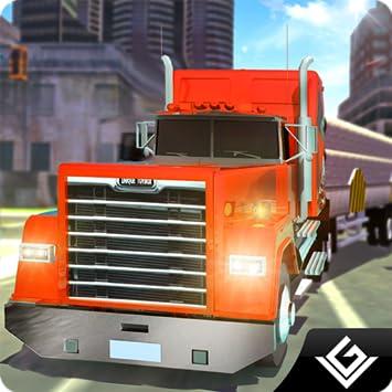 Amazon Com Real Truck Extreme Driving Simulator 2018 Euro City