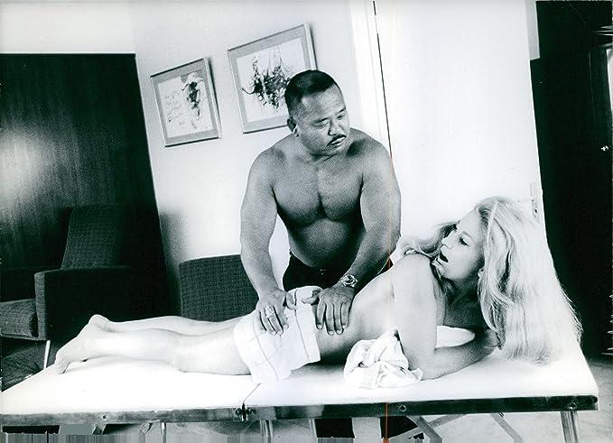 Massageing wrestler