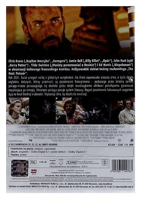 Amazon com: Snowpiercer [DVD] (English audio): Chris Evans, Alison