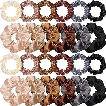 For Girls Elastic Hair Bands Ponytail Holder Soft Rubber Bands Scrunchie