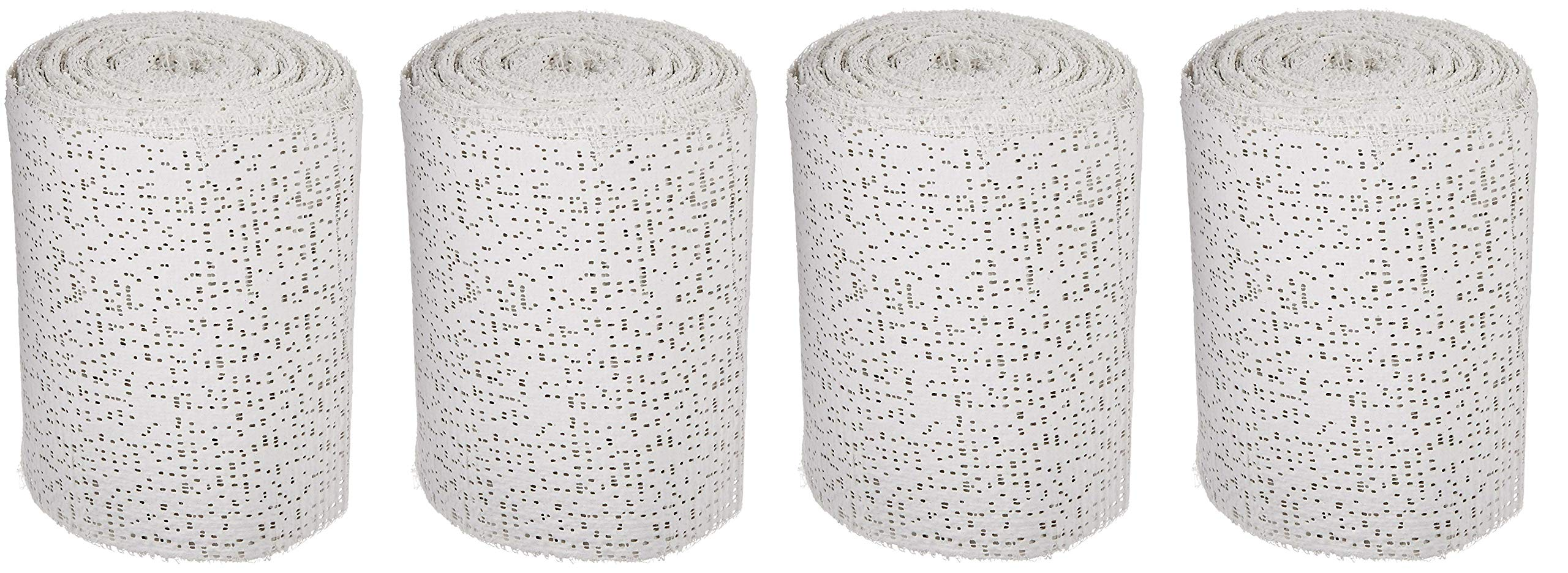 Sax Professional Plaster Wrap Roll, 4 Inch x 180 Feet, White, 20 Rolls (Pack of 4)