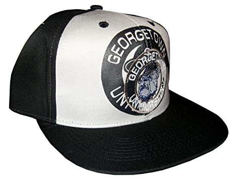 new arrival c11ba be94c ... fitted hat f497d 2ffa4  amazon drew pearson mens vintage snapback cap  nos georgetown hoyas adjustable 22.05 inch 23.62 black red
