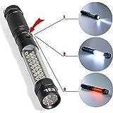 E3L 3 in 1 Multi-function LED Flashlight, Emergency Lamp Safe Roadside Lamp, with magnetic Base