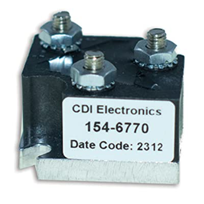 CDI Electronics 154-6770 Mercury/Mariner Rectifier (1967-1997): Automotive