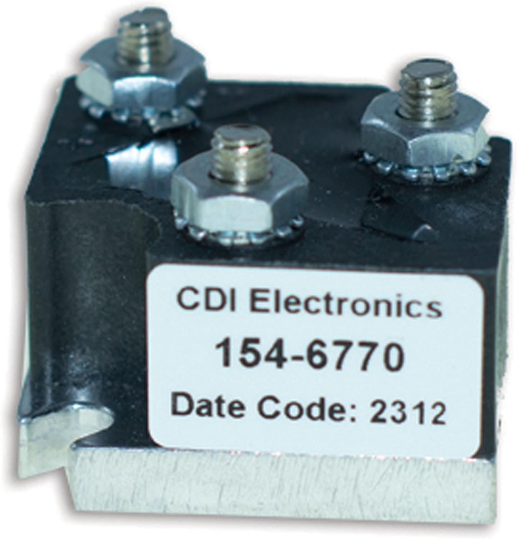 CDI Electronics 154-6770 Mercury/Mariner Rectifier (1967-1997)