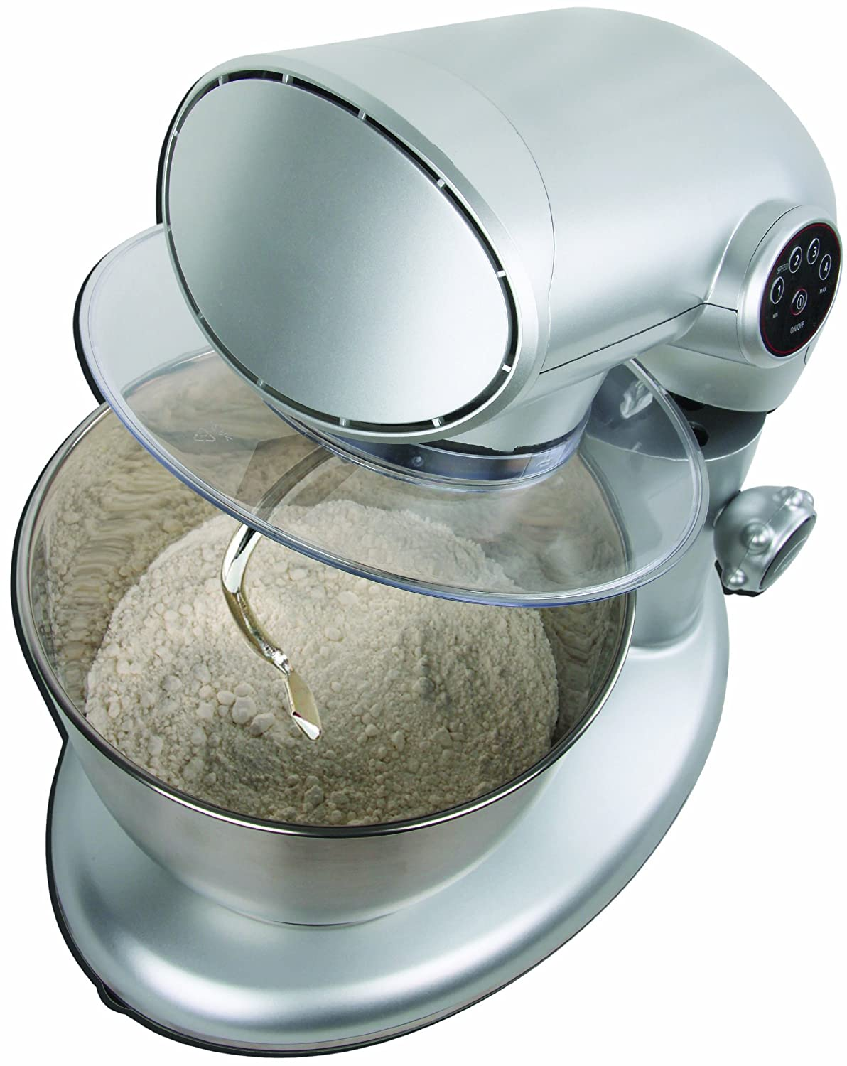 Amazon.com: American Era 650W Stand Mixer with 6-QT Stainless Steel ...