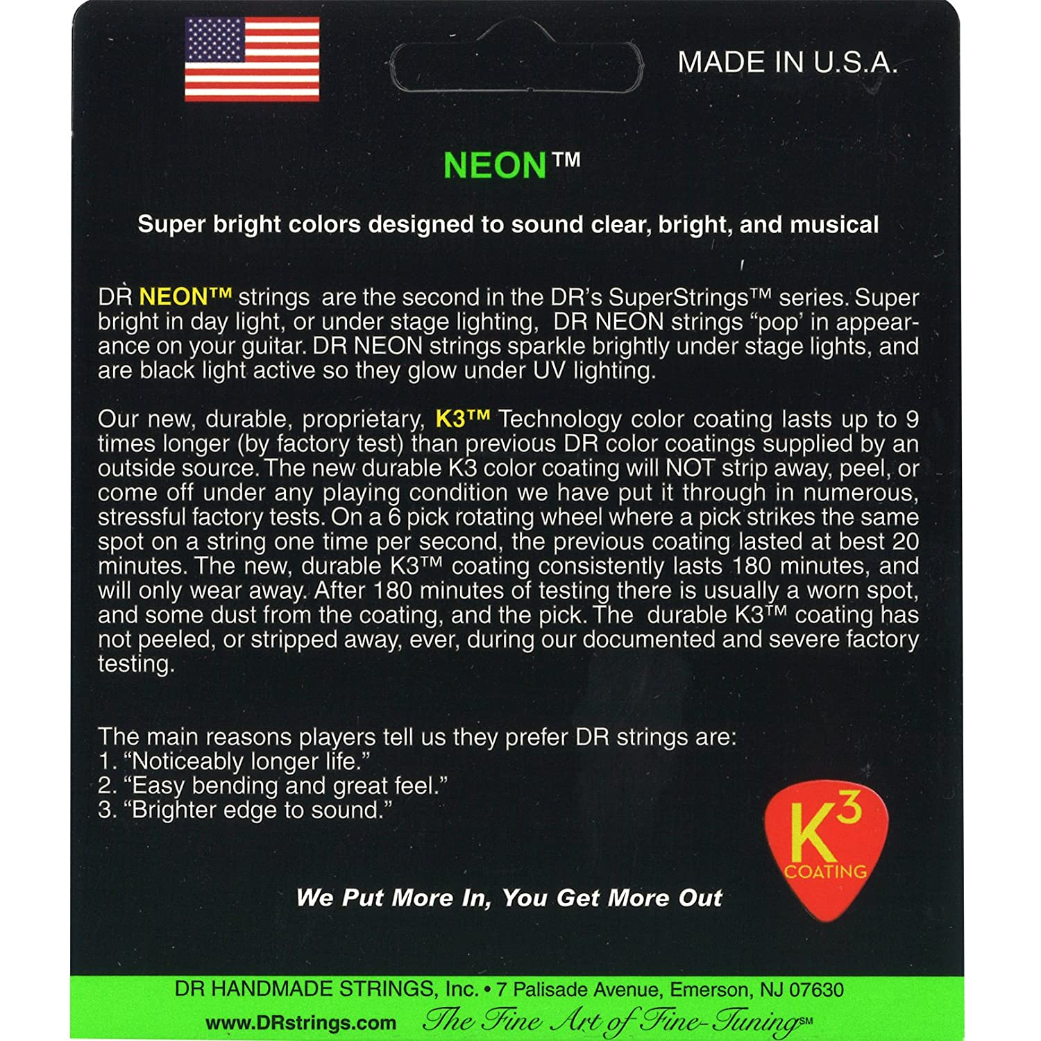 Amazon.com: DR Strings NGE-9 Coated Nickel Electric Guitar Strings, Light: Musical Instruments