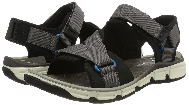 9c66d8097b068e Clarks Men s Explore Active Black Flip Flops Thong Sandals - 8 UK India (42  EU)  Buy Online at Low Prices in India - Amazon.in