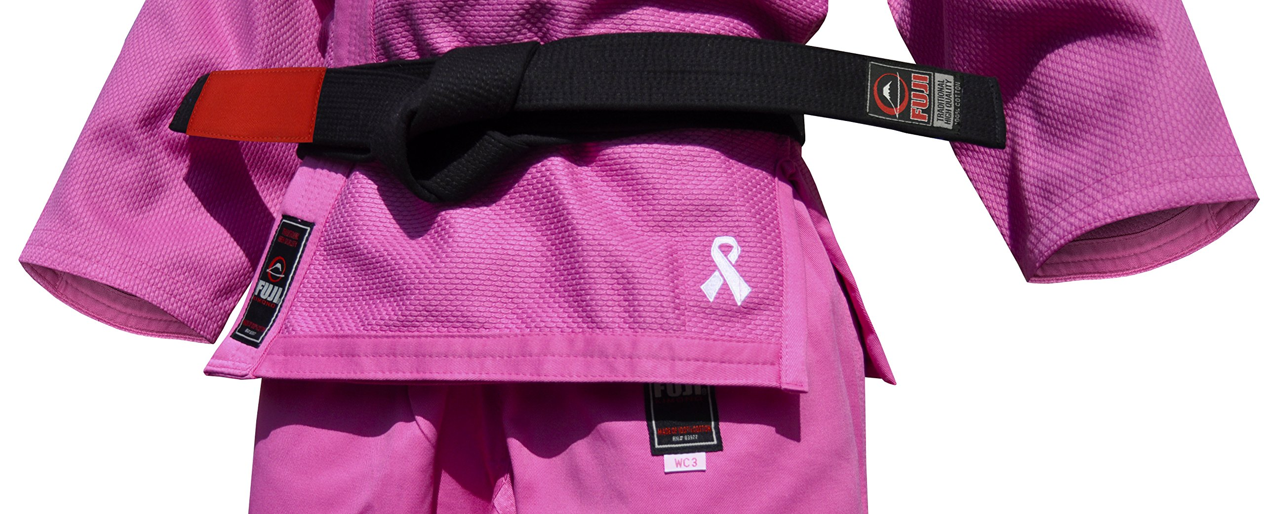 Fuji Kid's BJJ Uniform, Pink, WC0 by Fuji