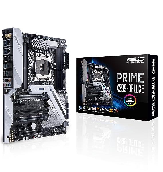 ASUS Prime X299-DELUXE - Motherboard - ATX: Amazon.es: Electrónica