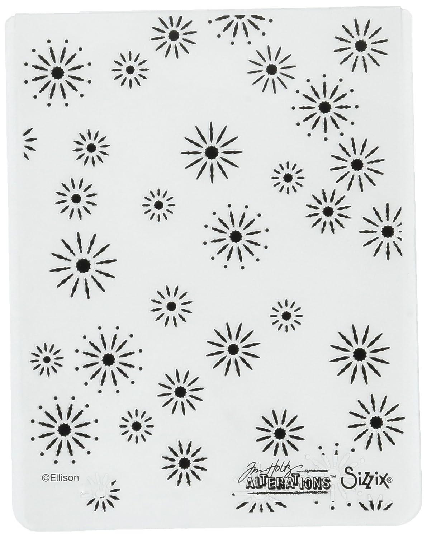 Sizzix 661001 Texture Fades Embossing Folder, Sparkles by Tim Holtz Ellison