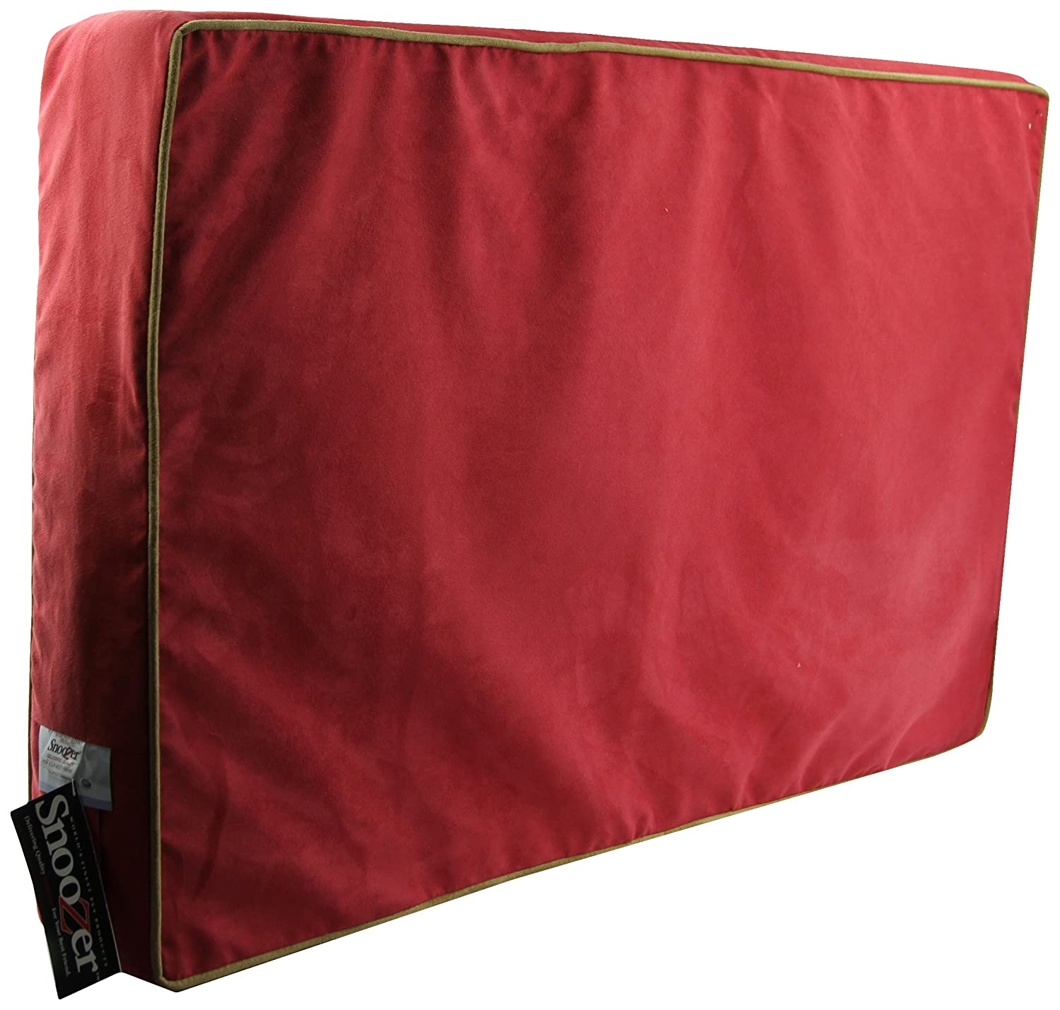 Red Camel X-Large Red Camel X-Large Snoozer 95888 X-Large Outlast Dog Bed Sleep System 5-Inch Thick, Red Camel