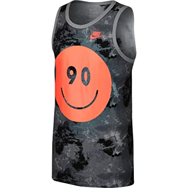 3cac13b4 Nike Air Max Tie Dye Men's Tank Top Grey/Black/Red 717359-102 (Size ...