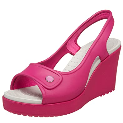 76b42bc5371e Crocs Women s Havana Wedge Slingback