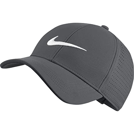 19562ac76bd Amazon.com  NIKE AeroBill Legacy 91 Perforated Golf Cap  Sports   Outdoors