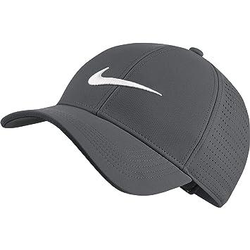Nike Legacy91 Perf Gorra de Golf, Hombre, Gris (Dark Grey 021), Talla Única: Amazon.es: Deportes y aire libre