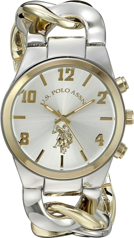 Amazon.com: U.S. Polo Assn. Women's USC40173 Analog Display Two ...