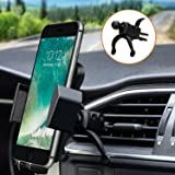 Car Mount,Phone Holder,Car Phone Mount PATEA Universal 360° Swivel Air Vent Car Phone Holder A Quick Release Button iPhone X/8/7P, Samsung Galaxy S8/S7,Huawei Mate 9 Other Android Phones
