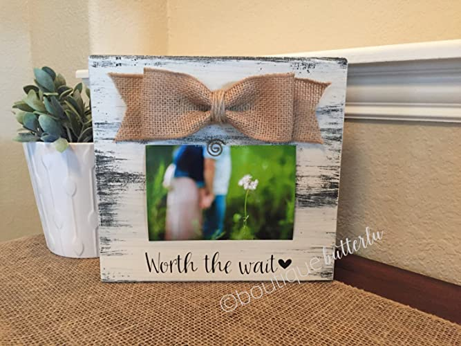 Amazon.com: Worth The Wait Love At First Sight Baby Shower Gift ...