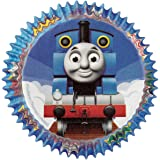 Wilton Baking Cups, Standard, Thomas The Train, 50-Pack