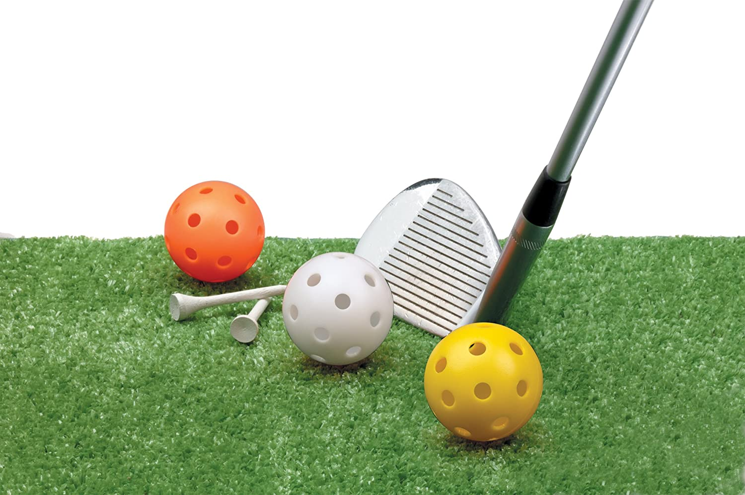 Jef World of Golf Gifts and Gallery, Inc. Golf Practice Balls (Multi Color, Includes 12 Balls)