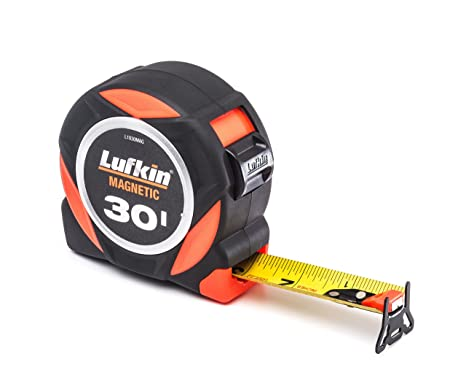 Lufkin L1030MAG 30 Command Series Tape Meaure with Magnetic Hook - - Amazon.com