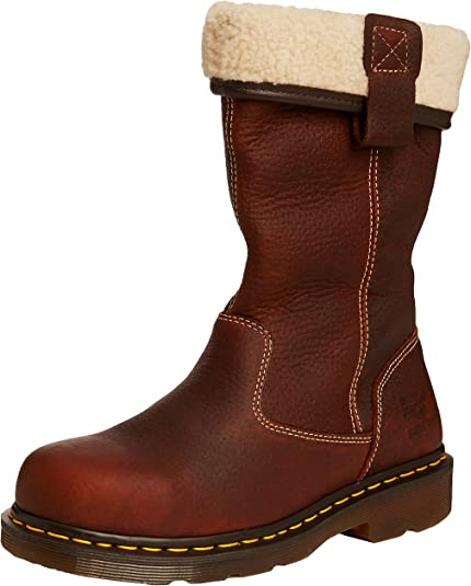 Safety Boots ROSA/ST Brown 8 UK