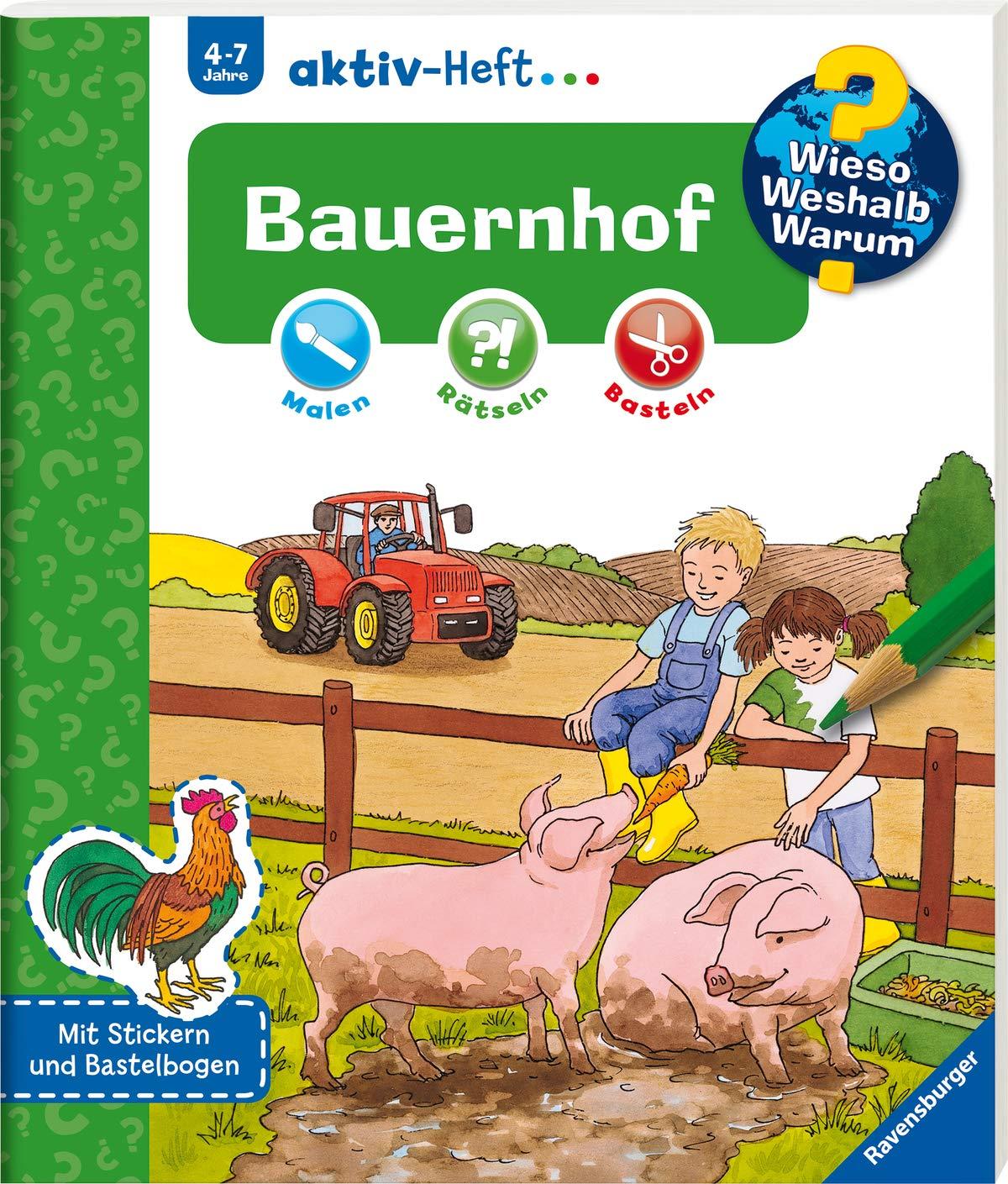 Bauernhof  Wieso  Weshalb  Warum  Aktiv Heft