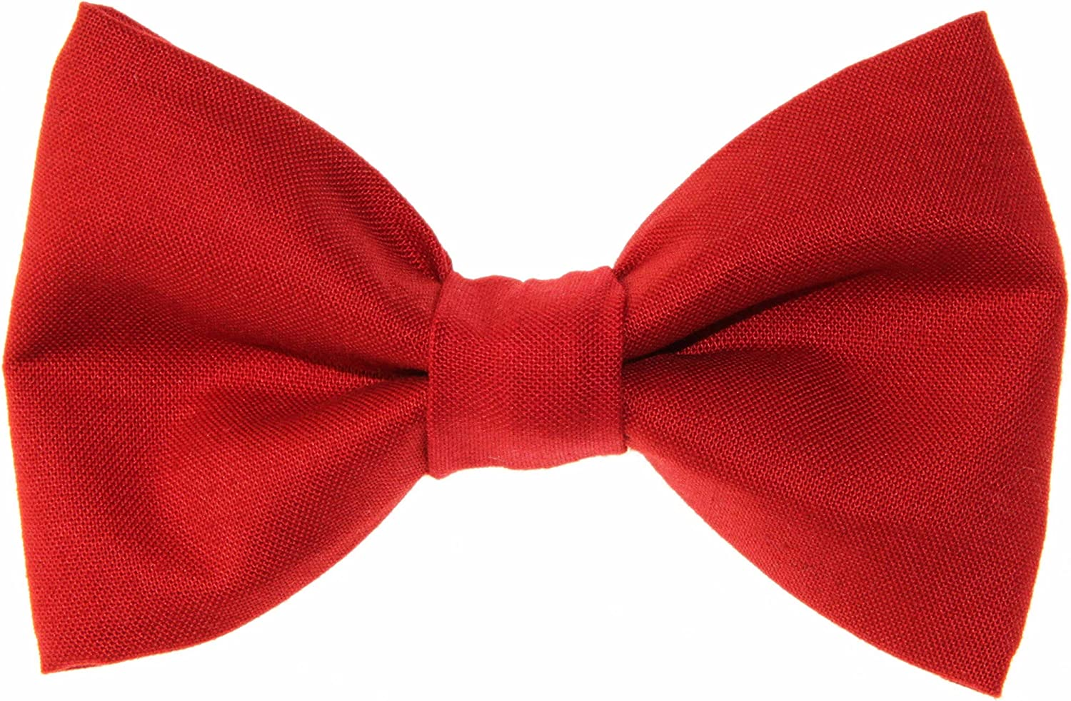 Men/'s Bow Tie Red With Cats Clip-On Cotton Bow Tie Boys Bow Tie Novelty Bow Tie